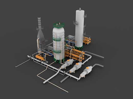 3D Modeling Distillation Units