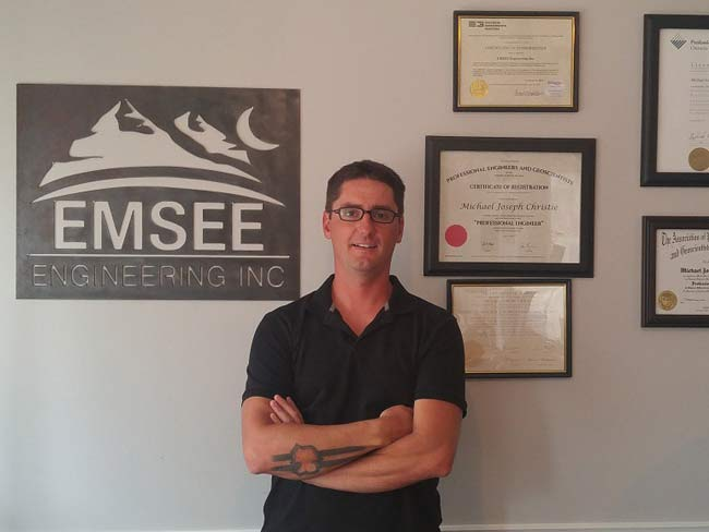 Mike Christie - Owner - Certificates Background